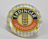 Vintage Erdinger Weissbrau Beer Lapel Button Pin Back