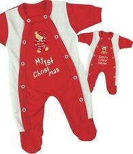 Pyjamas rouge pour fille de 0 à 24 mois