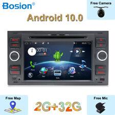 Autoradio Android 10 Per Ford/Focus/Transit/C-MAX/Mondeo/Transit/Fusion 2 Din BT