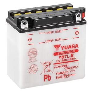 Batteria Yuasa YUASA YB7L-B 12 V 8 Ah 105 cca spunto