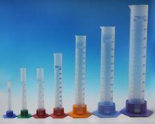 Messzylinder Messkolben Kunststoff PP (Polypropylen) 7 Größen zur Auswahl