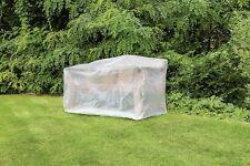Schutzhülle für Gartenbank Schutz Hülle transparent 160x75x80cm Garten Bank neu