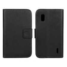 Magnetic Leather Wallet Stand Flip Case Cover Holder For LG Nexus 4 E960 Pop