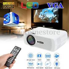 Full HD DLP 1080P 1200 Lumens 4K 3D Smart Projector Movie Theater Home Cinema