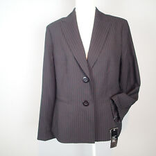 le suit  BLAZER, Ladies Jacket, SZ 14  black rose stripes career w8