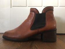 Rieker Ladies Chelsea Boots Tan Leather Size 41 Uk 7 Reiker