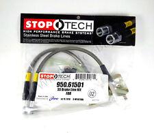 STAINLESS STEEL REAR BRAKE LINES FOR 05-14 FORD MUSTANG V6 / V8 - STOPTECH
