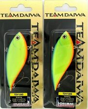 2 Team Daiwa 3/4 Oz TD Vibration 108 Lipless Crankbait Blue Back Chart TDV108S11