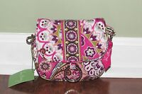 Vera Bradley VERY BERRY PAISLEY Hipster LITTLE HIP BAG Cross-Body Purse - NWT