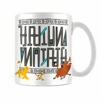 Disney León King Hakuna Matata Cerámica Taza de Café Té - en Caja