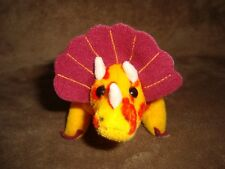 Special Effects The 24K Company Fantasaurs Triceratops 1997 Plush & Beans