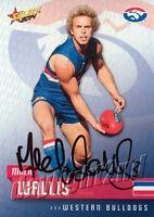 ✺Signed✺ 2014 WESTERN BULLDOGS AFL Card MITCH WALLIS