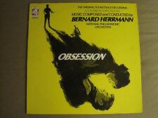 BERNARD HERRMANN OBSESSION (ORIGINAL SOUNDTRACK RECORDING) LP ORIG '76 DE PALMA
