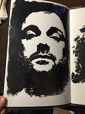 Supernatural Crowley Mark Sheppard Painting Portrait by Chris McJunkin