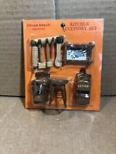 Hello Dolly Doll House Kitchen Furniture & Accessories Wood Miniature 8397 NEW