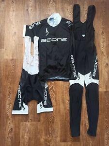 Men's Cycling Shirt Jersey Shorts Pants Set AGU Beone Size M