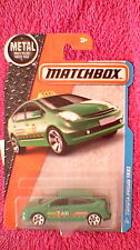 Matchbox (US Card) - 2016 - #9 Toyota Prius Taxi - Green