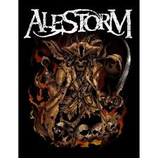 OFFICIAL LICENSED - ALESTORM - BEER PIRATE WOVEN SEW-ON PATCH METAL