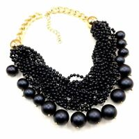 Designer Kette Statement Halskette Necklace Outfit Abendkette Statementkette F23