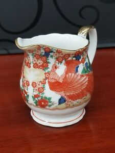 Orange Japanese Soup Bowls Meriann Original c1962 Orange Porcelain Glaze Orange Rough Texture Serving Dish Three Footed vintage bowl