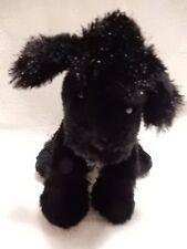 Ganz Webkinz Lil Kinz BLACK POODLE HS 191 Plush Stuffed Animal No Code EUC
