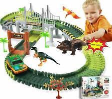 144er Autorennbahn Off-Road-Rennwagen Set Geländewagen Rennbahn Spielzeug Kinder