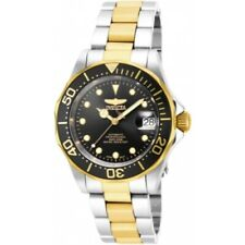 Invicta 17043 Pro Diver Automatic Date Black Dial Stainless Steel Mens Watch