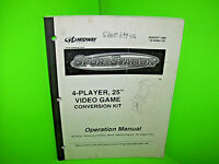Midway SPORTSTATION 1999 Original Video Arcade Game Service Parts Repair MANUAL