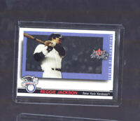 2002 Fleer Fall Classic Series of Champions Reggie Jackson #6 of 19 NY Yankees