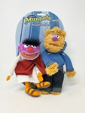 "Muppet Mayhem Plush Animal & Fozzie Bear Street Style Figures Sababa 9"" 11"""