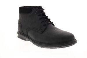 Clarks Rendell Peak 26155036 Mens Black Leather Chukkas Boots