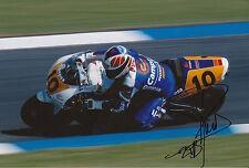 Sito Pons Mano Firmado Foto 12x8 Honda MotoGP 1.
