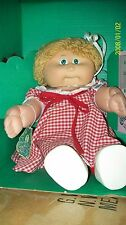 CABBAGE PATCH KIDS DOLL COLECO GIRL BUTTERSCOTCH LOOP HAIR BOXED!