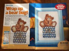 Margaret Sherry Cute Bear Cross Stitch Chart