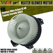 A/C Blower Motor fit Pontiac Vibe Scion tC xB Toyota Corolla W/FanCage 700230