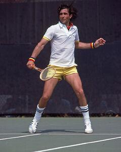 1980 Tennis Pro ILIE NASTASE Glossy 8x10 Photo Print Wimbledon Open Poster