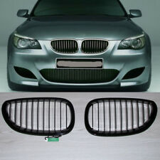 Gloss Black Kidney Grill Grille For BMW E60 E61 5 Series M5 2004-2009 2005 2006