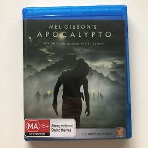 Apocalypto BLU-RAY Mel Gibson directed Mayan action adventure BRAND NEW & SEALED