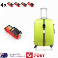 4x Travel Luggage Suitcase Bag Packing Secure Safe Strap Belt Lock 2M NEW