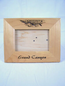 Grand Canyon Wooden Picture Frame fits  5 3/4 x 3 3/4picture
