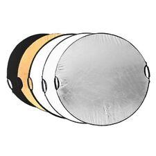 Nuevo Reflector de luz de mano Multi-funcion de Fotografia(110 cm 5 en 1) V5K4
