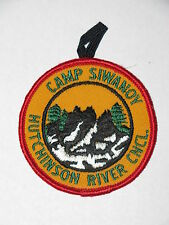Camp Siwanoy (NY) Pocket Patch w/ Loop  BSA