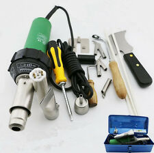 1500w Plastic Welder HOT AIR BLOWER 220V for PVC PP PPR POM by GIFT BOX 14 in 1