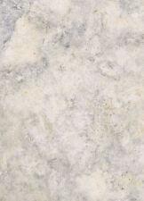 Faux Marble Wallpaper in Gray, Cream & Gold Flecks    FX13904