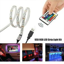 2m 120Leds SMD 5050 RGB CCT LED Strip USB TV LED Strip With Remote Controller