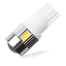 6 SMD LED 501 T10 W5W CAPLESS  SAMSUNG HID 6000K WHITE SIDE LIGHT BULBS +