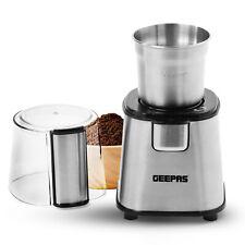 Geepas Electric Coffee Grinder Machine Milling Bean Nut & Spice Grinding 220W