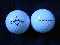 """10 CALLAWAY """"SR2"""" - """"SPEED REGIME"""" - BLACK TICK - Golf Balls - """"PEARL/A"""" Grades."""