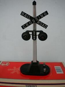 O Scale Lionel 6-12888 #154 Railroad Crossing Flasher