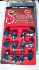 Grover 102C Guitar Rotomatic Original Chrome 14:1 Machine heads Repair Guitars